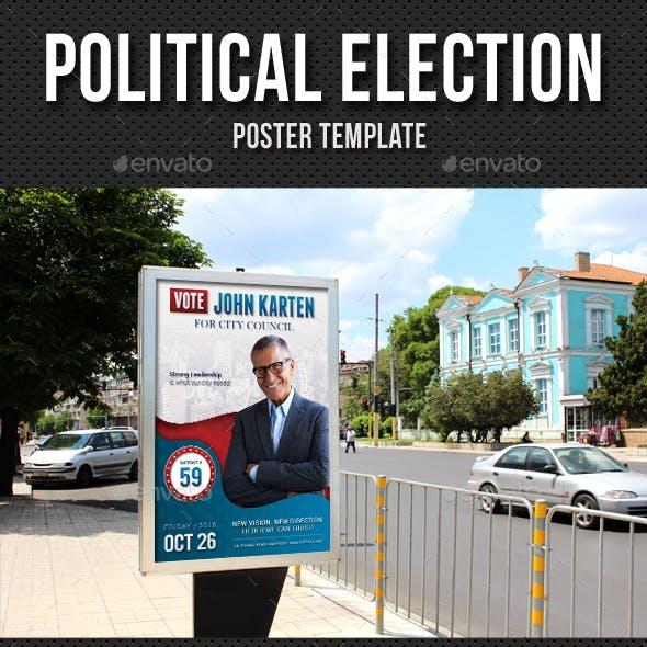 Political Election Poster v2