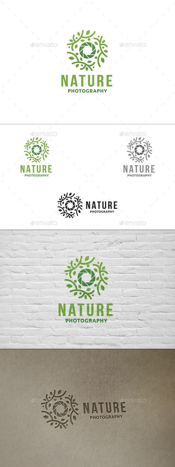 Nature Photography Logo - Nature Logo Templates