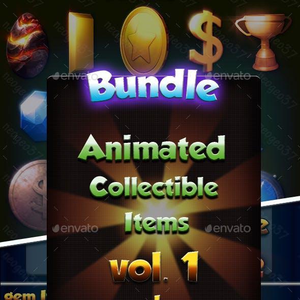 Animated Collectible Items Bundle