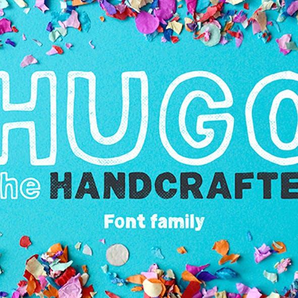 Hugo - The huge handlettered family