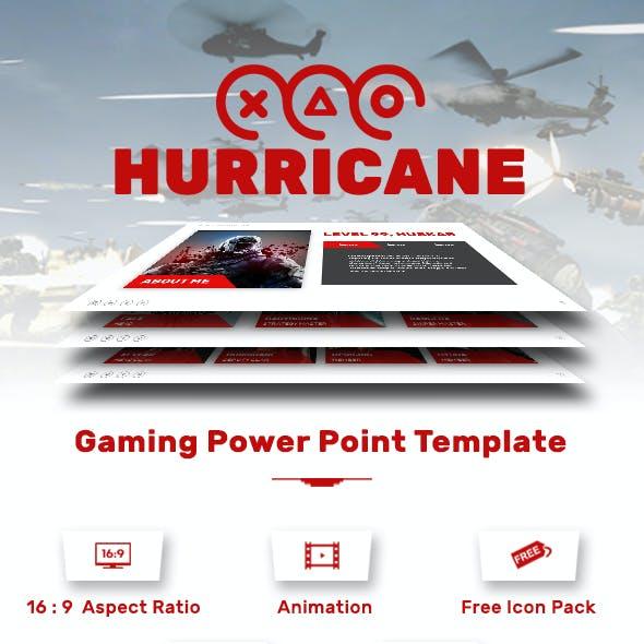 Hurricane Presentation Template