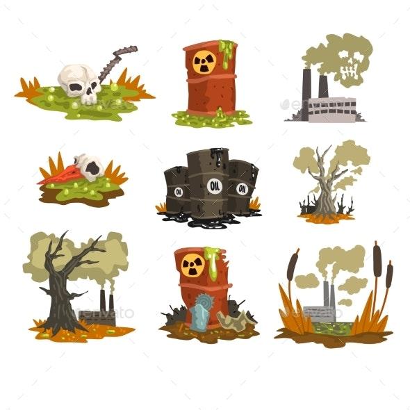 Ecological Problems Set - Miscellaneous Conceptual