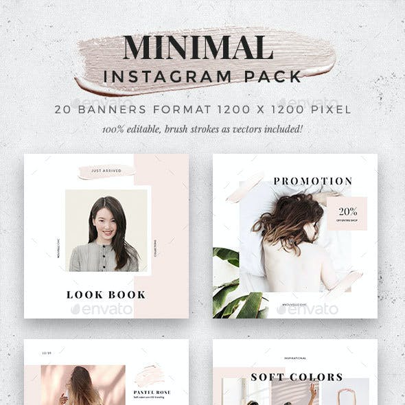 Minimalist -  Instagram Pack