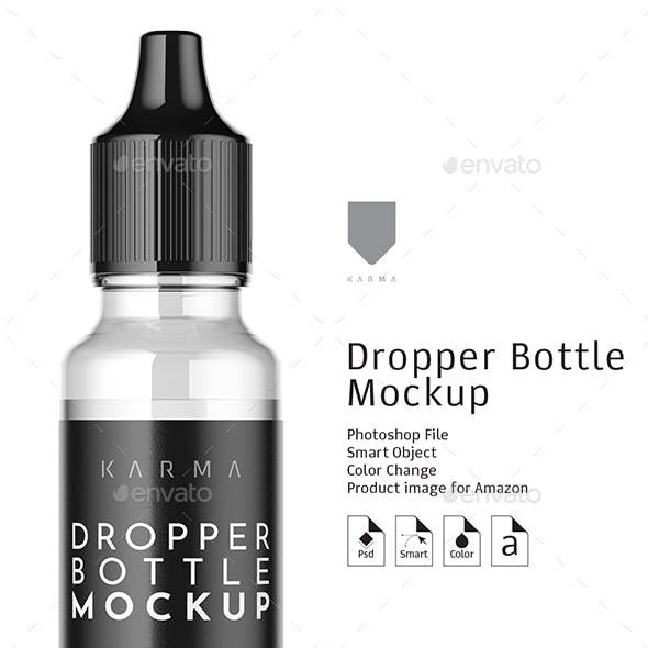 Dropper Bottle Mockup 5