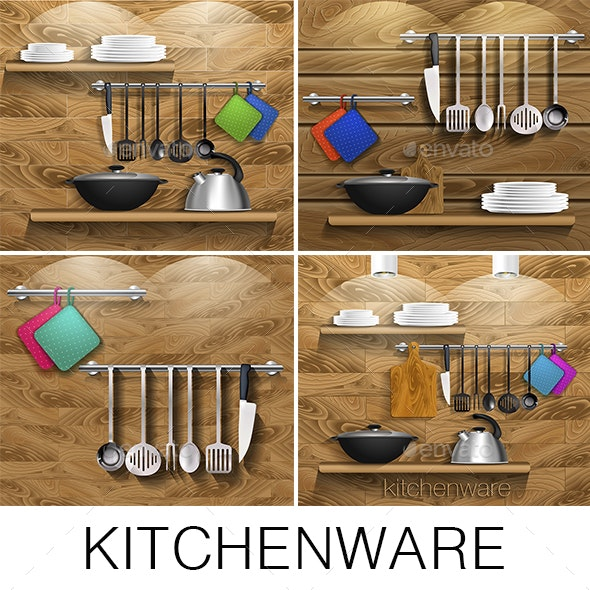 Kitchenware - Man-made Objects Objects