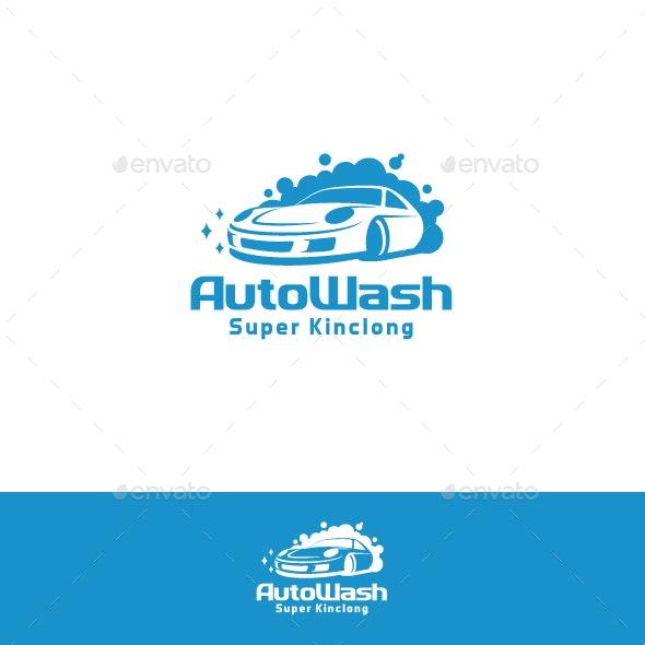 Auto Wash - Car Wash Business Logo - Symbols Logo Templates