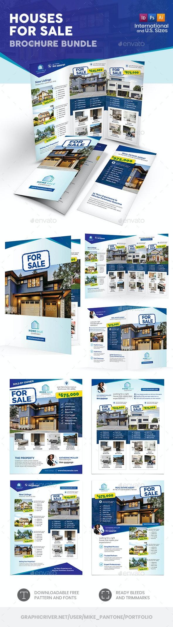 Houses For Sale Print Bundle - Informational Brochures