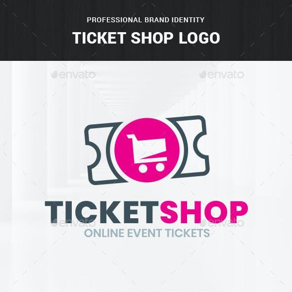 Ticket Shop Logo Template