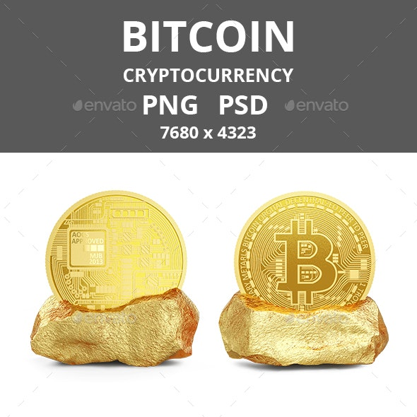 Bitcoin - Objects 3D Renders