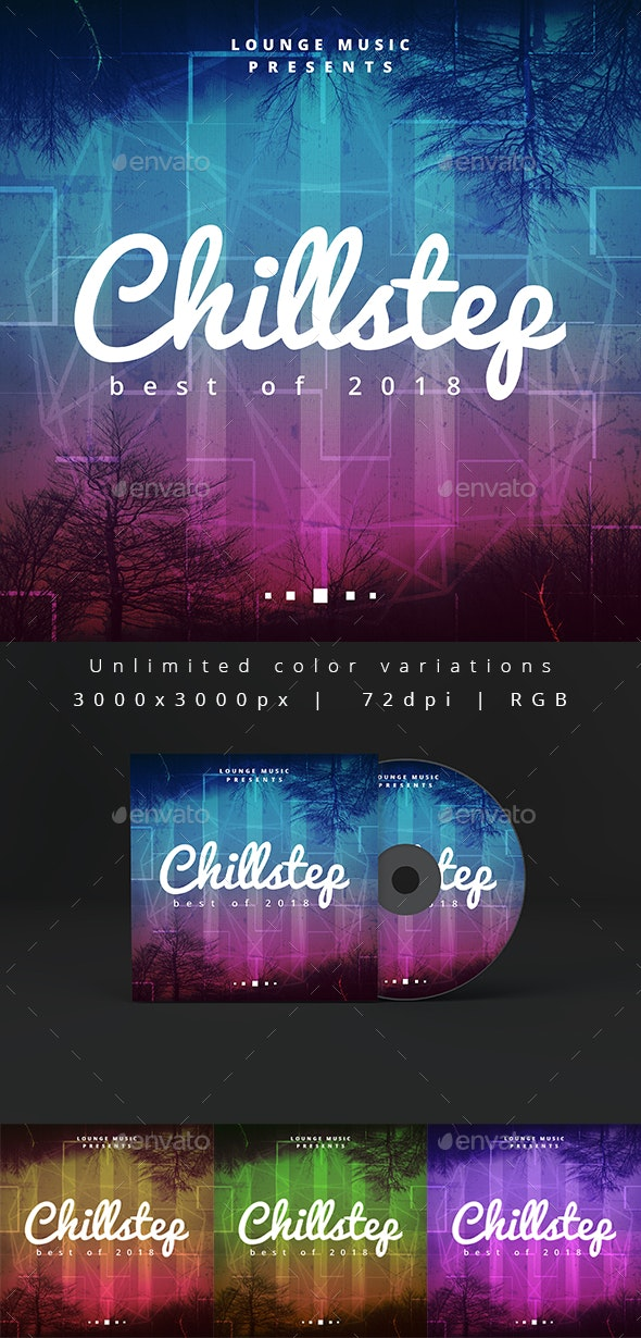 Chillstep - Music Album Artwork Web Cover Template - Miscellaneous Social Media