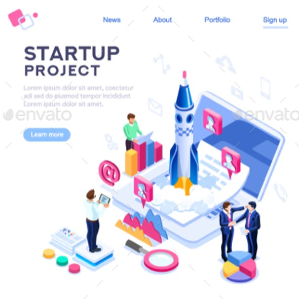 Company Homepage Template