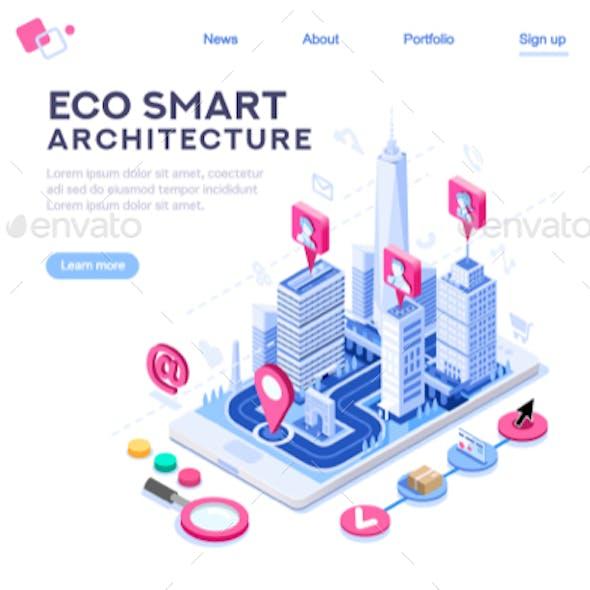 Eco Smart City Template for Presentation