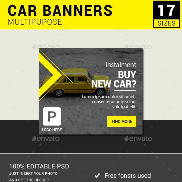 Car Banner Ads