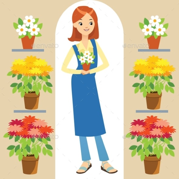 Florist - People Characters