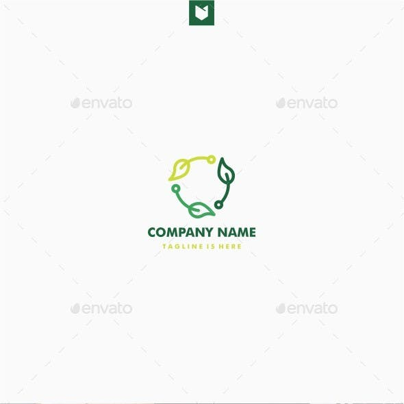 Leaf Recycle Tech Logo