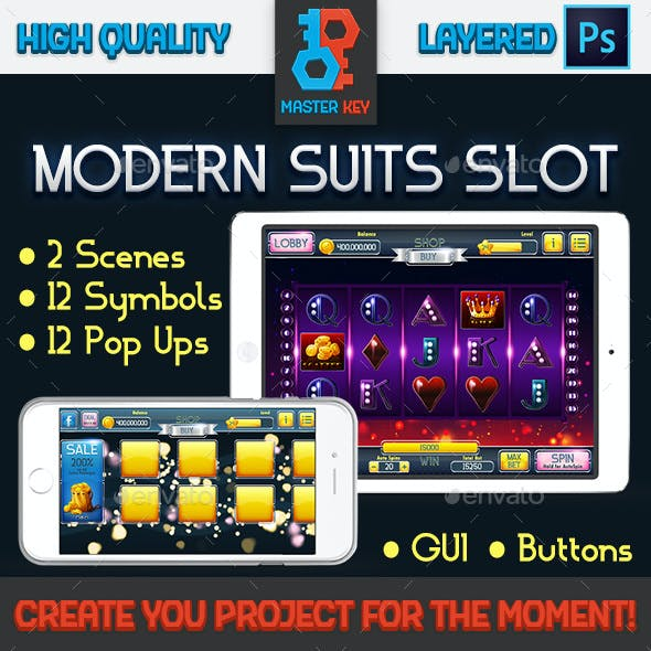 Modern Suits Slot Pack