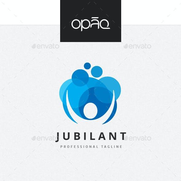 Jubilant Human Logo
