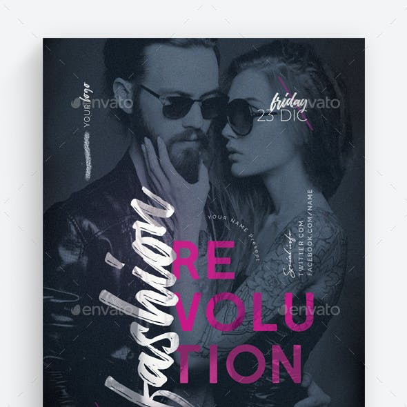 Fashion Revolution Vol.2 Flyer Template