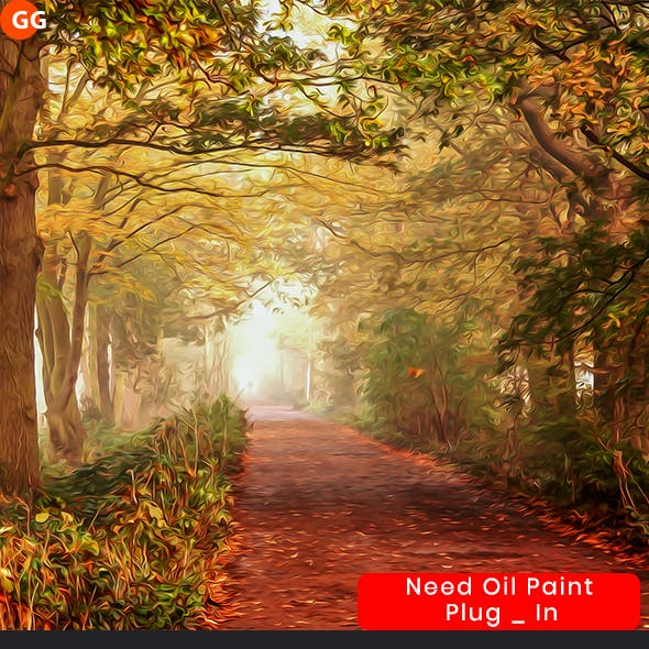 10 Oil Painting Photoshop Action