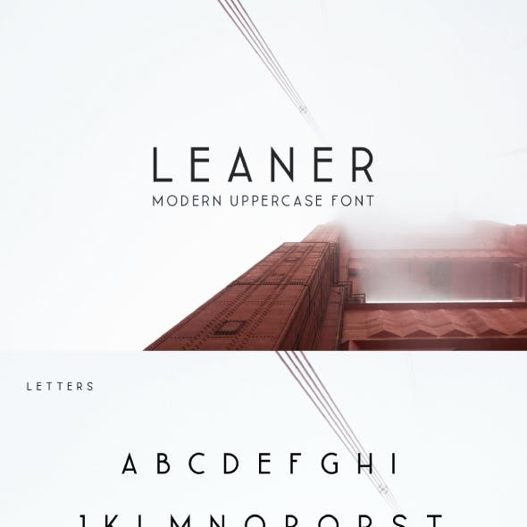 Leaner Typeface | 3 Weights