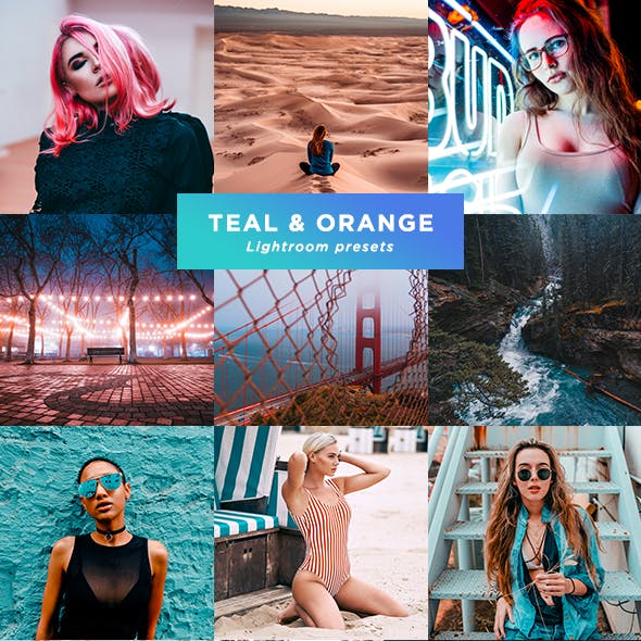 23 Pro Teal & Orange presets
