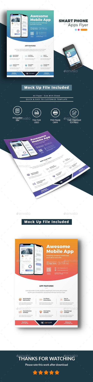 Smart Phone Apps Flyer - Commerce Flyers