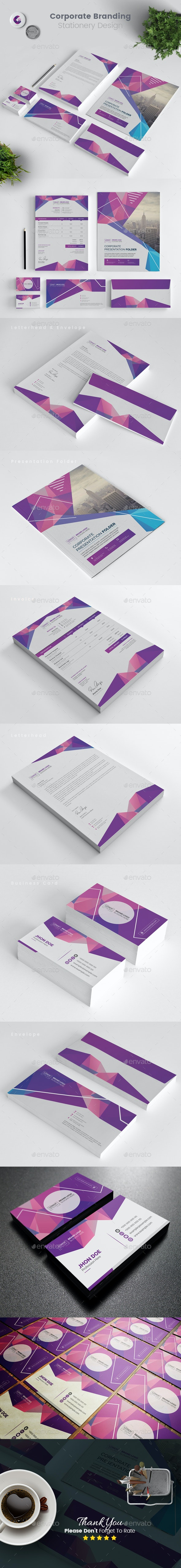 Abstract Stationery - Stationery Print Templates