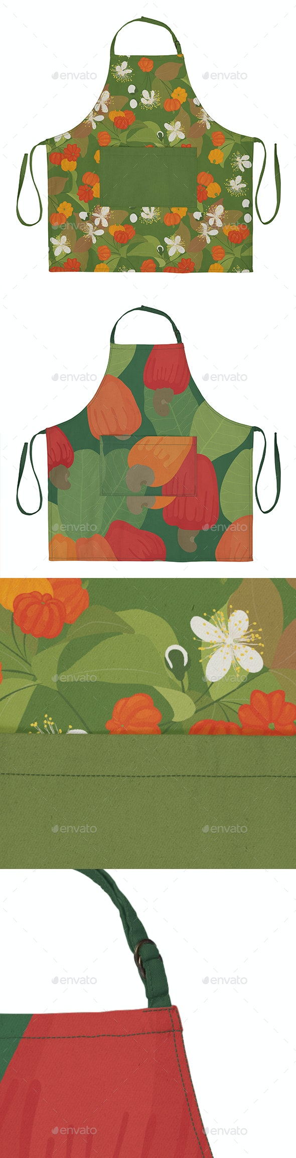 Canvas Apron Mockup - Miscellaneous Apparel