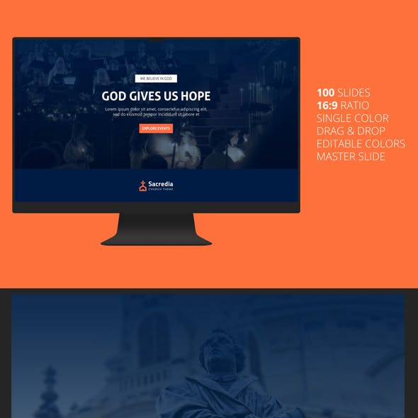 Sacredia - Church PowerPoint Template