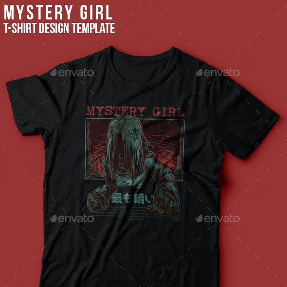 Mystery Girl T-Shirt Design