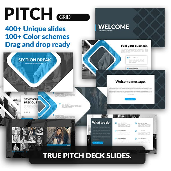 Grid - Pitch Deck Tool Kit