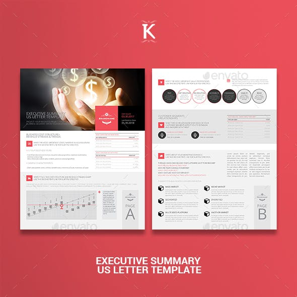 Executive Summary US Letter Template