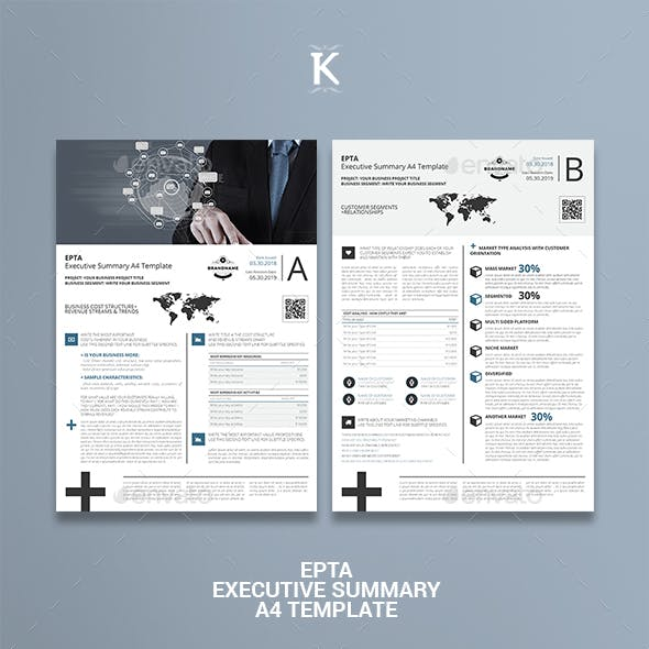 Executive Summary Graphics, Designs & Templates