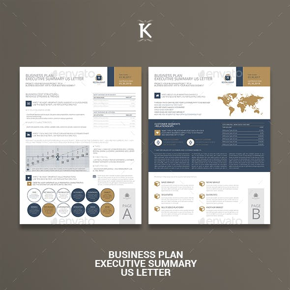 Business Plan Executive Summary US Letter