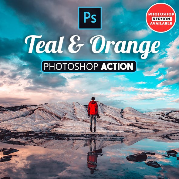 30 Orange and Teal - Photoshop Actions