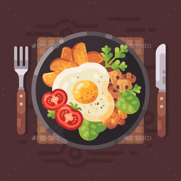 Healthy Breakfast - Miscellaneous Vectors