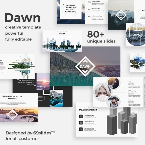 Dawn Creative Google Slide Template