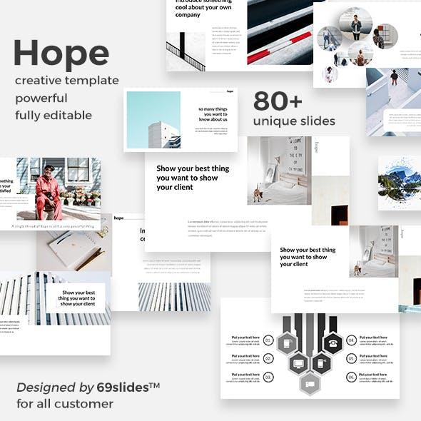 Hope Creative Google Slide Template
