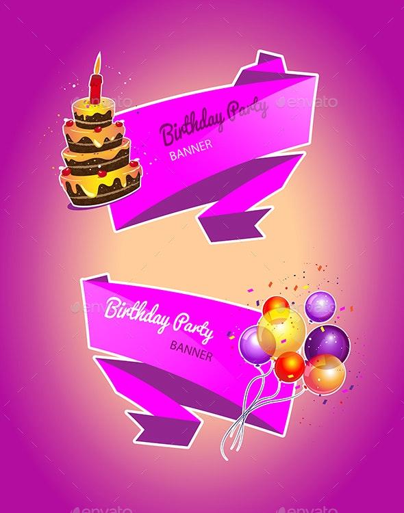 Birthday Party - Birthdays Seasons/Holidays