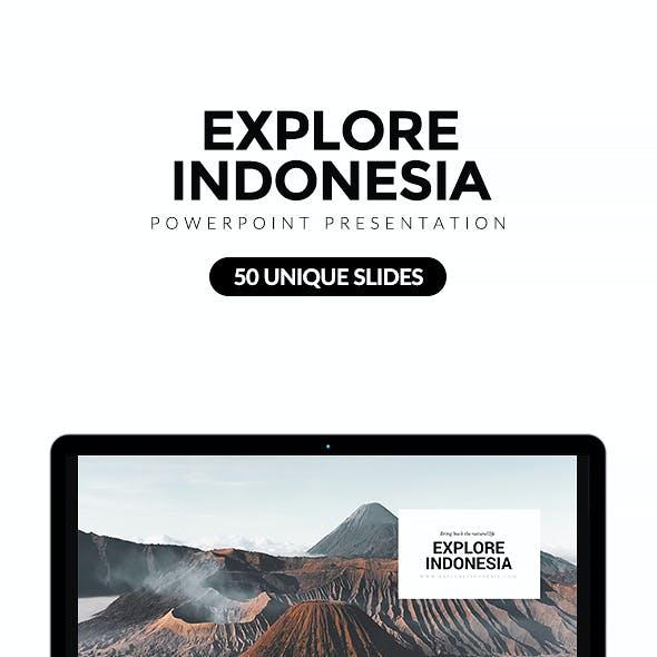 Explore Indonesia Powerpoint Template