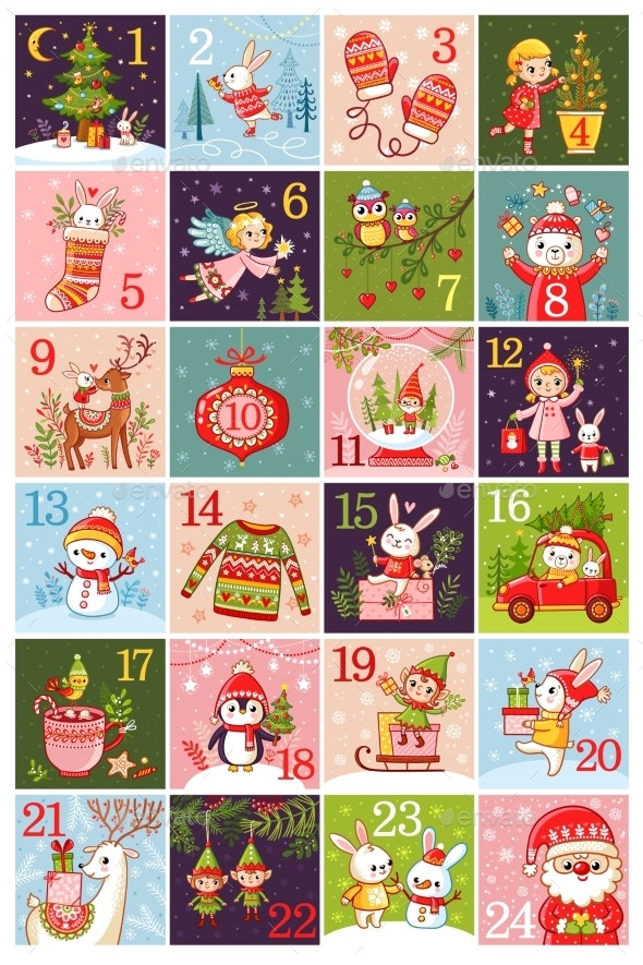 Calendar 2018 - Christmas Seasons/Holidays