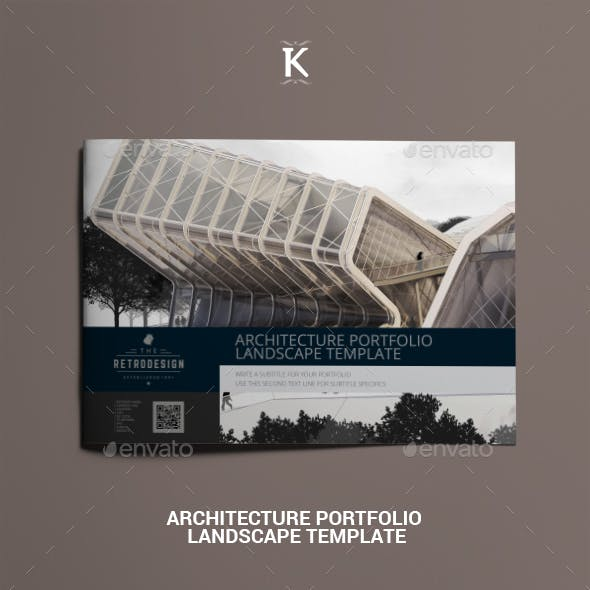 InDesign Architecture Portfolio Graphics, Designs & Templates
