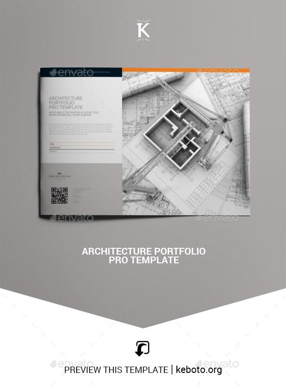 Architecture Portfolio Pro Template - Portfolio Brochures