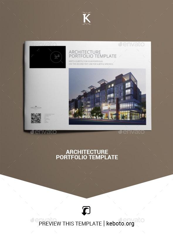 Architecture Portfolio Template - Portfolio Brochures