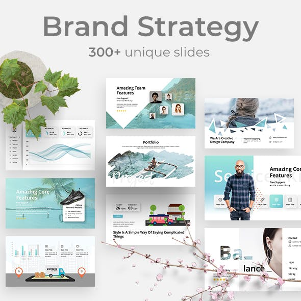 Brand Strategy - Creative Powerpoint Template