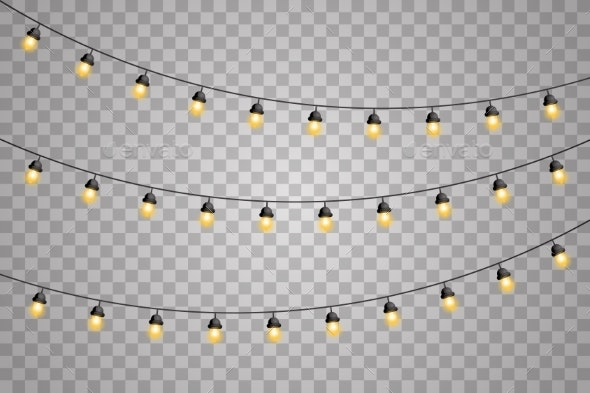 Garlands Decorations Lights Glowing Led Neon Lamps - Man-made Objects Objects