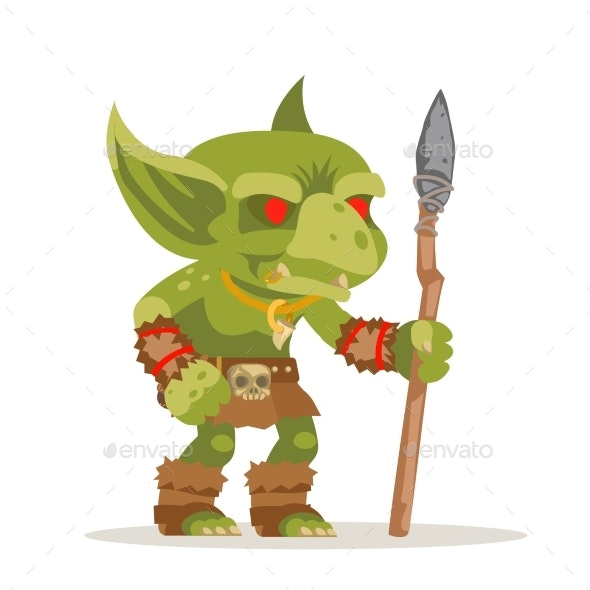 Goblin Evil Minion Dungeon Monster Fantasy - Miscellaneous Characters