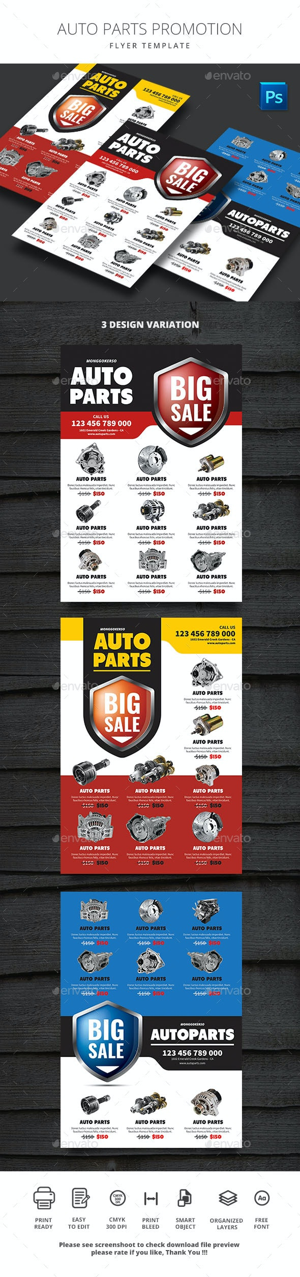 Auto Parts Promotion - Commerce Flyers