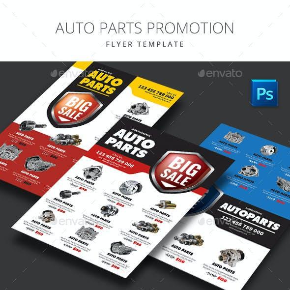 Auto Parts Promotion