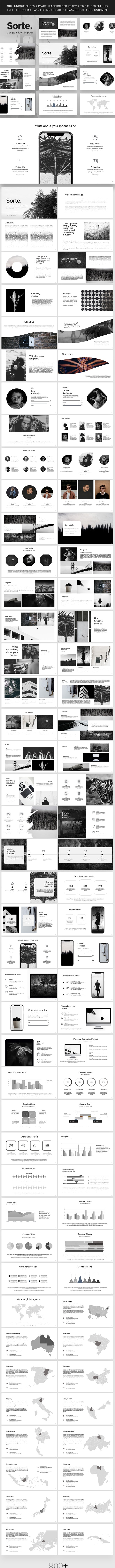 Sorte Google Slide Presentation Template - Google Slides Presentation Templates